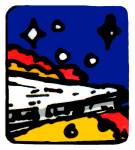 Scanned and retouched decal image