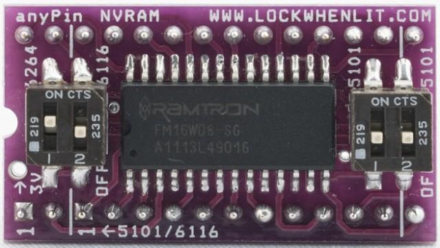 anyPin NVRAM module by Pinball Classics