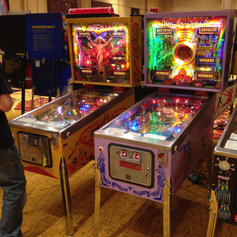 Farfalla and Time Machine, both by Zacarria, at Pinball Showdown.